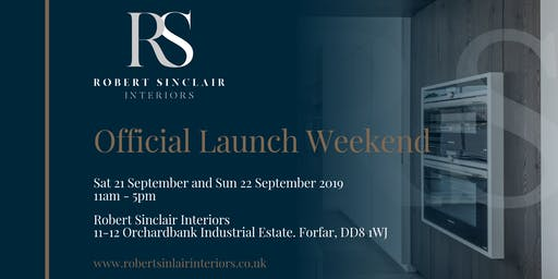 Official Launch Weekend | Robert Sinclair Interiors