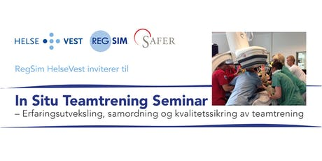 In Situ Teamtrening Seminar tickets