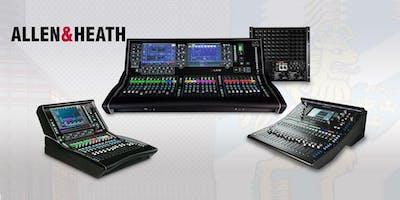 BENUM AB - Demo av Allen & Heath samt Adamson Systems - UDDEVALLA