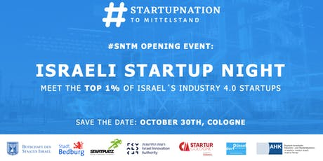 #SNTM Opening Event - Israeli Startup Night Tickets