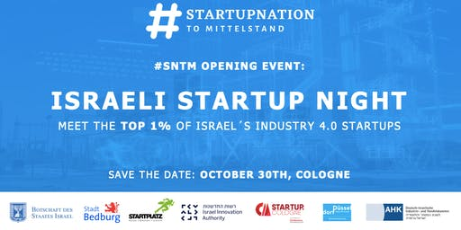 #SNTM Opening Event - Israeli Startup Night