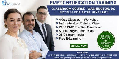 PMP® Certification Training Course in Washington, DC | 4-Day PMP Boot Camp