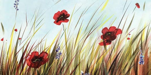 Poppy Field Brush Party - Abingdon