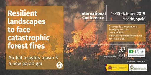 International Event: Resilient landscapes to face catastrophic forest fires