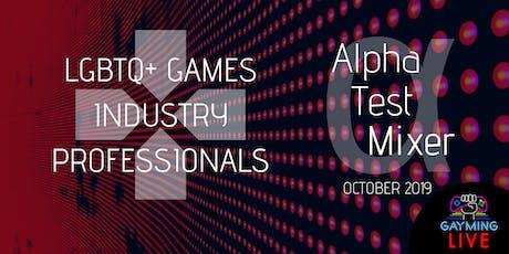LGBTQ+ Games Professionals London | Alpha Test Mixer tickets