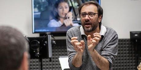 Workshop gratuito di doppiaggio radio-televisivo con Claudio Moneta biglietti