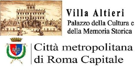 Cancelli Aperti - Il Museo Archeologico di Villa Altieri  biglietti