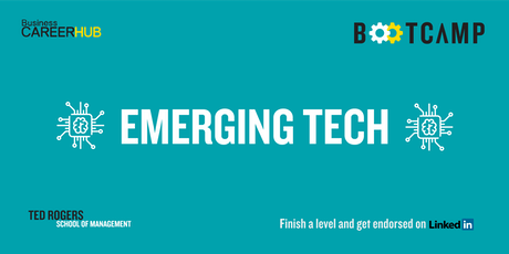 Emerging Tech Prep Bootcamp Day 1 tickets