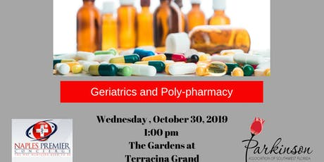 Geriatrics and  Poly-pharmacy with Dr. Ron Garry tickets