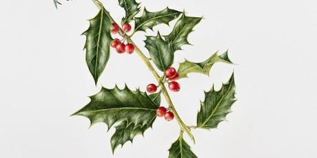 Botanical Illustrations - Winter berries tickets