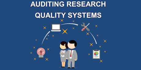 Auditing Research Quality Systems tickets