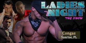 """""""Men in Motion LIVE"""" Ladies Night Sunrise, FL"""