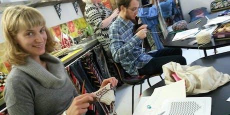 Beginners Knitting tickets