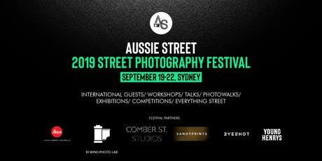 Aussie Street 2019 Street Photography Festival Opening Night/Awards Presentation tickets