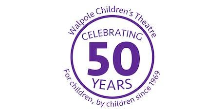 50th Anniversary of the Walpole Children's Theatre tickets