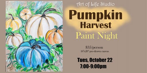 Paint Night: Pumpkin Harvest