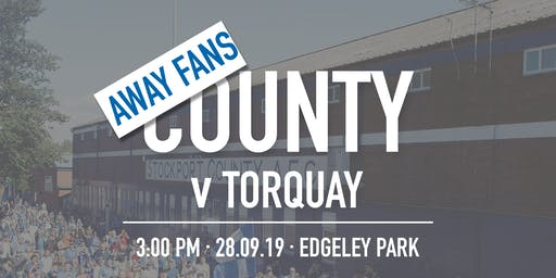 Away Fans - #StockportCounty vs Torquay United