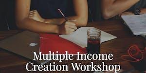 Multiple Income Creation (Online Webinar)
