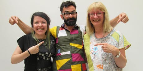 Zero waste sewing with Riccardo Guido, finalist of the Great British Sewing Bee tickets