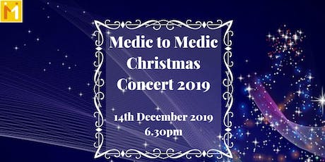 Medic to Medic Christmas Concert 2019 tickets