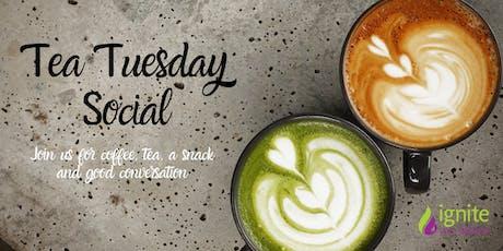 Tea Tuesday Social tickets