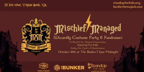 Mischief Managed Wizard's Costume Party and Fundraiser tickets