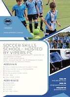 Soccer Skills School - Hosted By Vipers FC