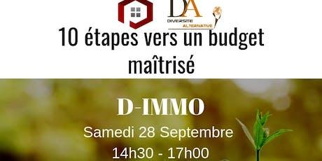 D-IMMO: 10 étapes vers un budget maîtrisé billets