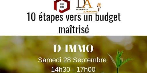 D-IMMO: 10 étapes vers un budget maîtrisé