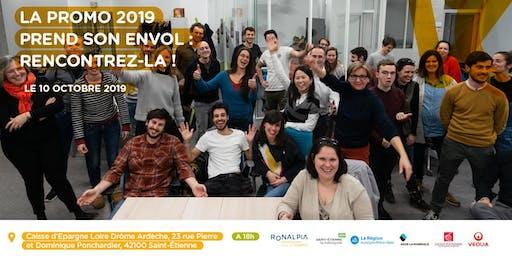 Soirée d'Envol Promotion Incubation Saint-Etienne 2019