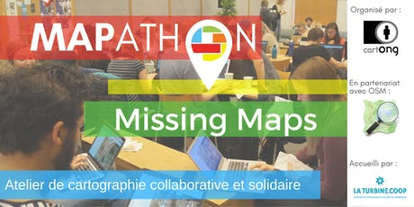 Mapathon Missing Maps à Grenoble @La Turbine.coop billets