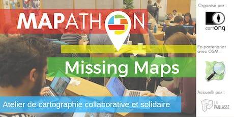 Mapathon Missing Maps Paris @ La Paillasse billets