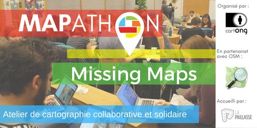 Mapathon Missing Maps Paris @ La Paillasse