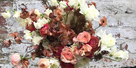 Autumn Harvest Tied Bouquet & Cocktails Workshop with June in March tickets