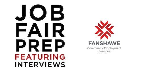 Job Fair Prep: Interviews