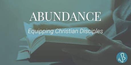 The Abundance Course tickets
