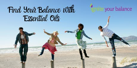Find your Balance with Essential Oils tickets