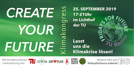 CREATE YOUR FUTURE - KlimaKongress Tickets