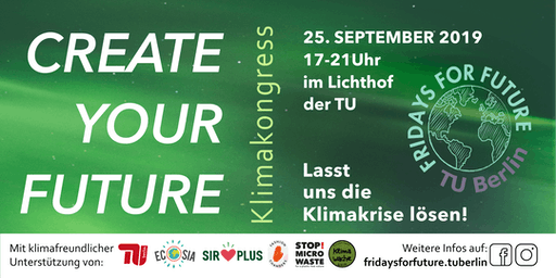 CREATE YOUR FUTURE - KlimaKongress