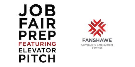 Job Fair Prep: Elevator Pitch  tickets