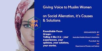 Muslim Women's Roundtable - Parramatta session