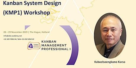 Kanban System Design KMP1 tickets