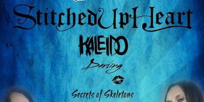 Stitched Up Heart wsg/ Kaleido, Darling & Secrets Of Skeletons.