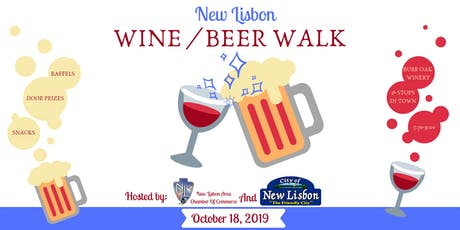 Wine / Beer Walk New Lisbon tickets