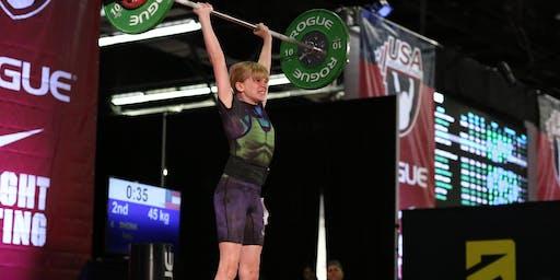 Youth Olympic Weightlifting Seminar Camillus