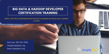 Big Data and Hadoop Developer Certification Training in  Montreal, PE tickets
