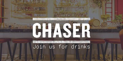 Pre-AWEB Awards drinks with Chaser