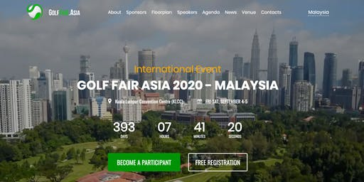 Golf Fair Asia 2020 - Malaysia (International Event)
