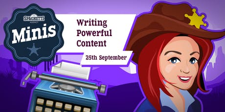 Copywriting Course - Writing Powerful Content - September 2019  tickets