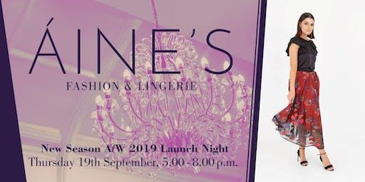 Áine's presents A/W 2019 Season Launch Night